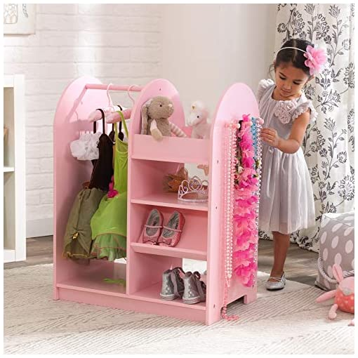 KidKraft-Wooden-Fashion-Pretend-Dress-Up-Station-Childrens-Furniture-with-Storage-and-Mirror-Pink-266-x-158-x-394