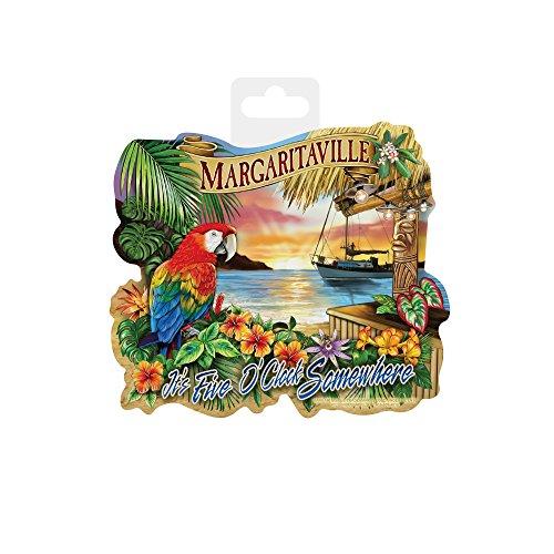 Rico Industries Margaritaville  Die Cut Vinyl Decal (Decor Decal Vinyl)