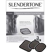 Slendertone Replacement Gel Pads for All Slendertone Abdominal Belts, 1 Set (3 Gel Pads)