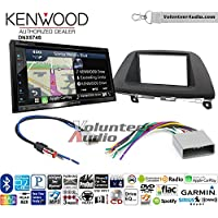 Volunteer Audio Kenwood DNX574S Double Din Radio Install Kit with GPS Navigation Apple CarPlay Android Auto Fits 2008-2010 Honda Odyssey