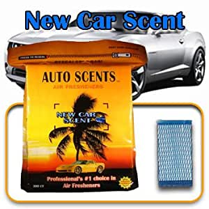 air freshener pads new car scent 60 pads office products. Black Bedroom Furniture Sets. Home Design Ideas