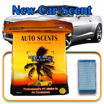 Air Freshener Pads - New Car Scent - 60 Pads