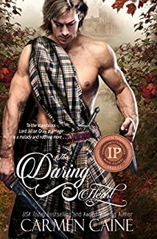 The Daring Heart (The Highland Heather and Hearts Scottish Romance Series Book 3) by [Caine, Carmen]