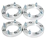 Max Motosports 1'' 4x137 to 4x156 ATV Wheel Spacers for Can-Am Bombardier Outlander Commander Kawasaki Bayou (4)