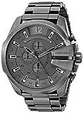 Diesel Men's DZ4282 Mega Chief Gunmetal Watch