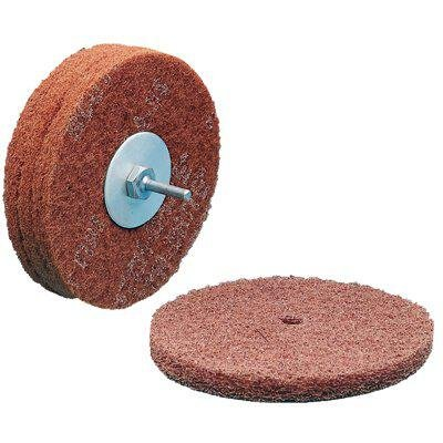 Scotch-Brite(TM) High Strength Disc, Aluminum Oxide, 6 Diameter, Very Fine Grit (Pack of 100)