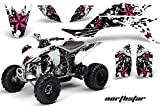 2007 yfz 450 graphics - Yamaha YFZ 450 2004-2013 ATV All Terrain Vehicle AMR Racing Graphic Kit Decal NORTHSTAR PINK BLACK WHITE
