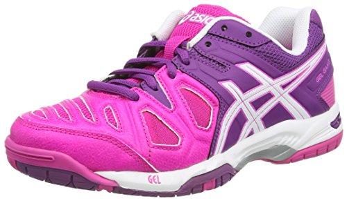 088c02af8f4 Zapatillas Glow Gel Mujer Asics Sintético white De Tenis game 5 Rosa Para  grape pink 3501 Pt1xAZ