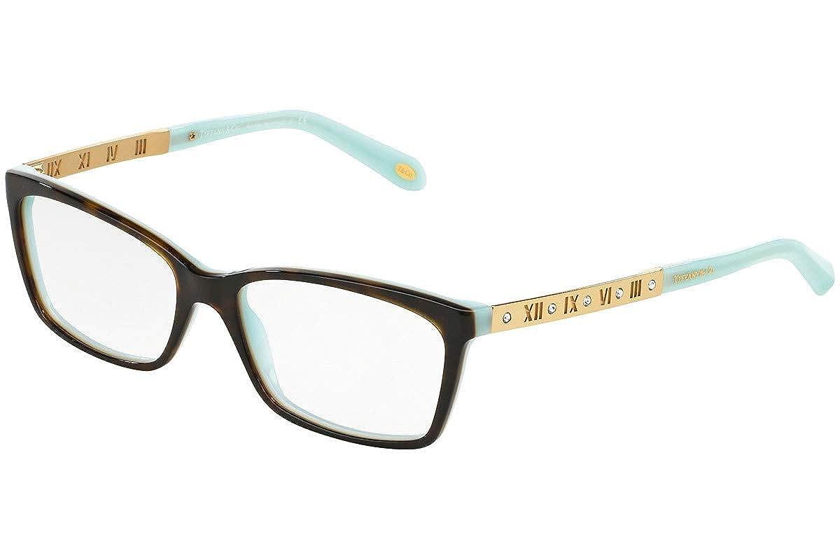 ee356dea479d Tiffany   Co Women s Eyeglasses TF2103B TF 2103 B 8134 Havana Optical Frame  55mm at Amazon Women s Clothing store