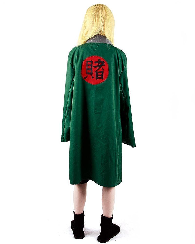 Amazon.com: miccostumes Mujer Naruto Tsunade cosplay costume ...