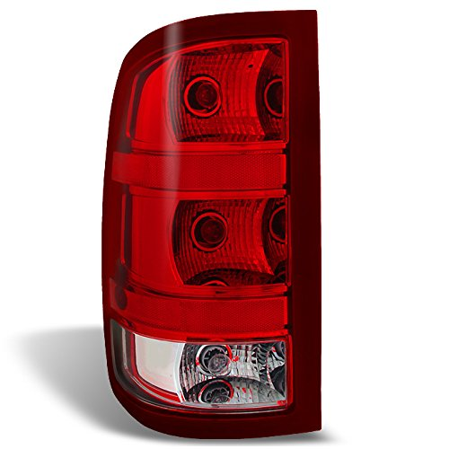 GMC Sierra Fleet side Pickup Truck Rear Tail Light Tail Lamp Brake (1500 Truck Side Lights)