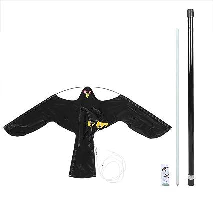 Amazon.com: Hgzde – Repelente de pájaros negro volador Hawk ...