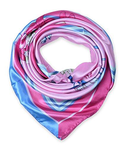 corciova Designer Womens Square Headscarfs