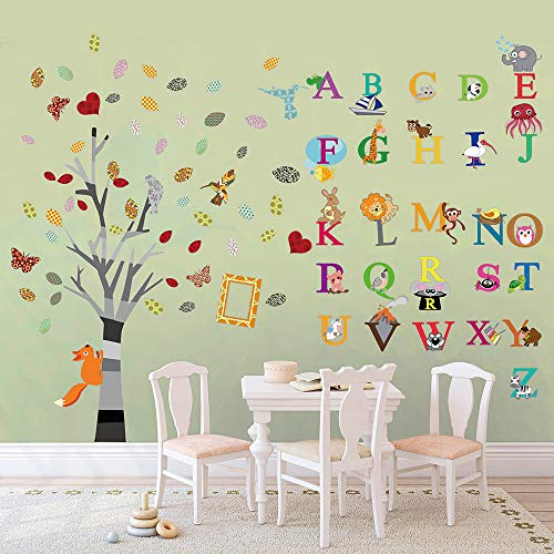 FOR dscalza Alphabet Tree removable wall decal