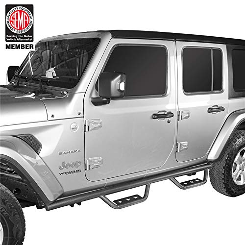 For 07-17 Jeep Wrangler JK 4 Door OE-Style Side Step Nerf Bars Running Boards