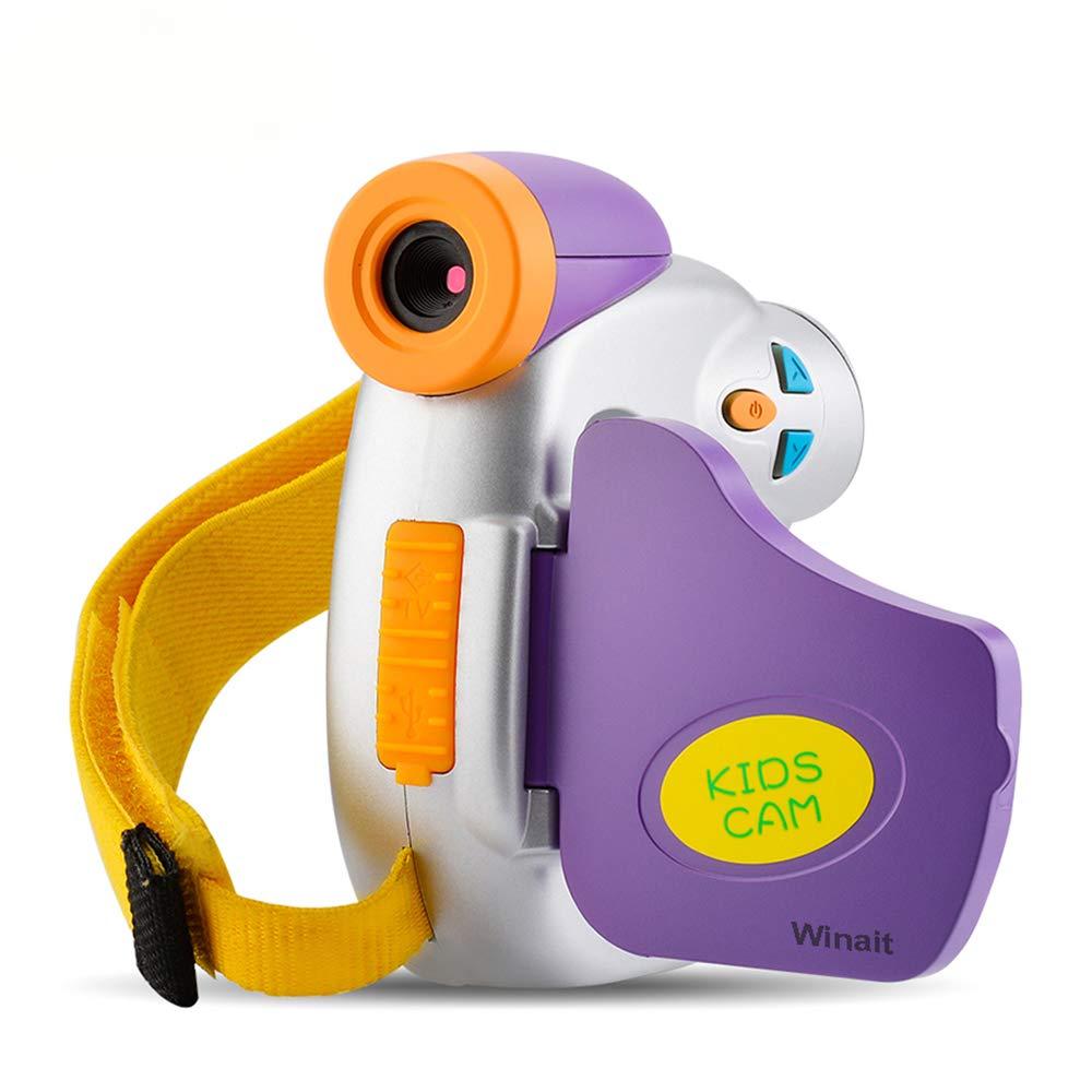 Winait フルHD 1080p キッズデジタルビデオカメラ 1.44インチTFTディスプレイミニDV付き   B07GX9Q5BC