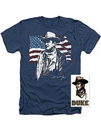 John Wayne American Icon T Shirt & Exclusive Stickers