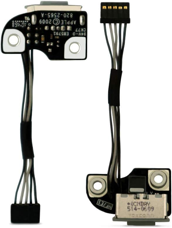 HKCB DC-in Power Board Replacement for MacBook Pro Unibody A1278 A1286 A1297 820-2565-A Series 2009-2012