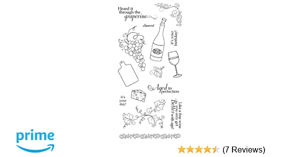 *NEW* Fiskars Clear Stamps /'AGED TO PERFECTION/' Last One