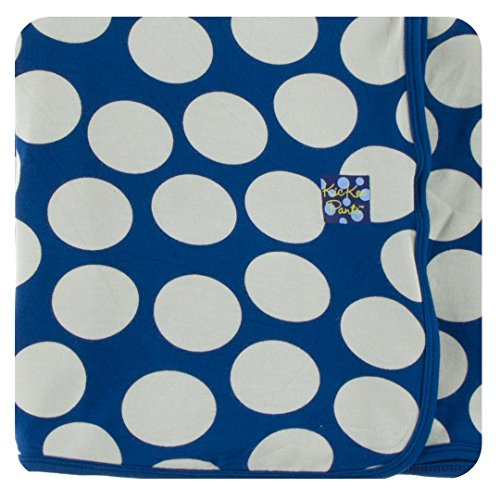 Kickee Pants Print Swaddling Blanket - Navy Mod ()