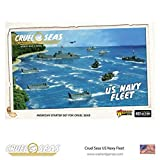 Cruel Seas US Navy Fleet 1:300 WWII Naval Military Wargaming Plastic Model Kit