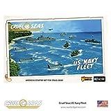 Cruel Seas US Navy Fleet Starter Set, World War II Naval Battle Game