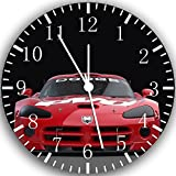 Dodge Viper Frameless Borderless Wall Clock W209 Nice For Gift or Room Wall Decor