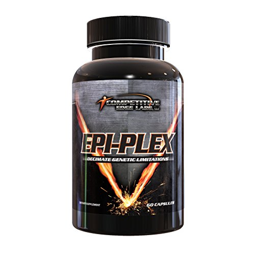 EPI-PLEX by Competitive Edge Labs ( CEL ) : Premium Epicatechin Testosterone Booster for Muscle Growth & Lean Strength Gains 300 mg EPIPLEX