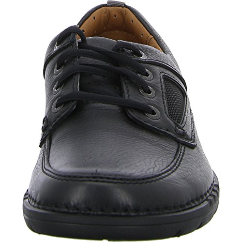 Clarks 261279428 Black Leather