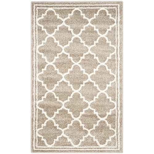 Safavieh Amherst Collection AMT422S Wheat and Beige Indoor/
