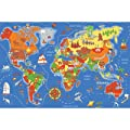 Play Carpet Where In The World Multi Kids Rug