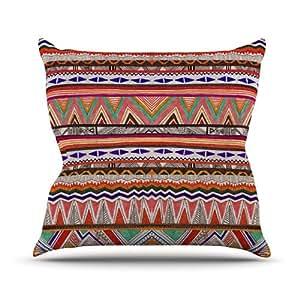 """Kess Vasare Nar """"nativo teselación internos al aire libre manta almohada, 16por 40,64cm"""