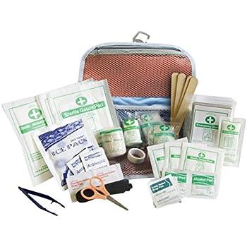 Kurgo Pet First Aid Kit, Portable Dog First Aid Kit, 50 Piece Pet Medical Kit for Camping, Hiking, Running, Walking, and Traveling