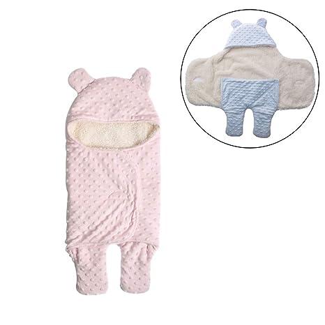 Saco de dormir para bebé, 2,5 tog, cómodo y unisex, para