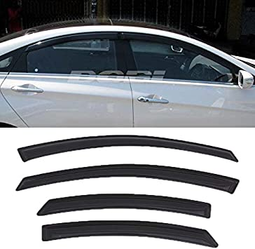 Vent Rian Window Visors 2011-2016 Out-Channel For Hyundai Sonata Side Deflectors