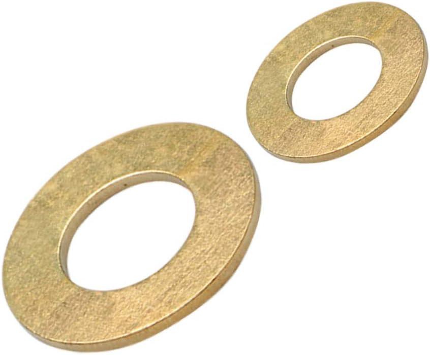 ORANXIN Tornillos Arandelas Planas Lat/ón Perno Cobre Arandelas de Metal Separadores Mes/ón M/áquina Sujetador Componentes M3 M4 M5-M20