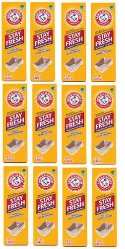 Arm & Hammer Drawstring Litter Liners Large 144 ct (12x12ct)
