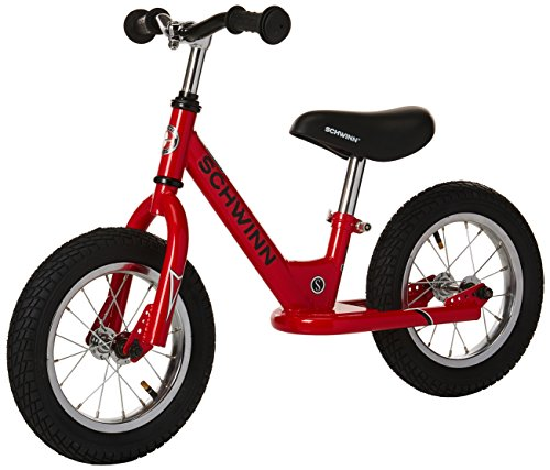 Schwinn Stride Balance Bike, 12-Inch Wheels, Red