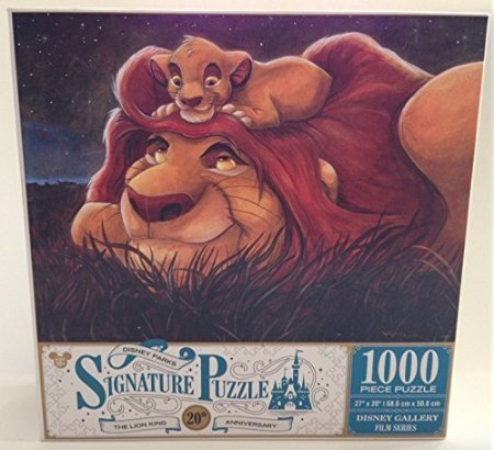 1000 piece lion king puzzle - 2