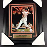 EDDIE MURRAY HITS 500TH HOMERUN BALTIMORE ORIOLES UNSIGNED 8x10 PHOTO FRAMED