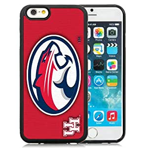 Fashion And Unique iPhone 6 Cover Case NCAA American Athletic Conference AAC Football Houston Cougars 4 Protective Cell Phone Hardshell Cover Case For iPhone 6 4.7 Inch TPU Black Phone Case