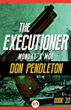 Front cover for the book Monday's Mob by Don Pendleton