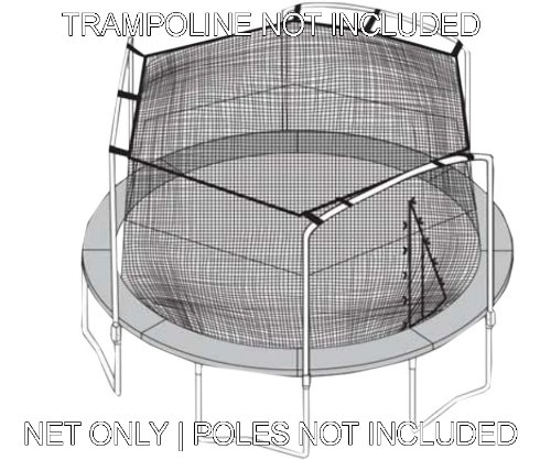 Sportspower-15-Trampoline-Net-3-Arches-with-Straps
