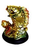 Feng Shui Chinese Carp/ Koi Fish /Lucky Fish Statue for Education and Scholastic (with a Betterdecor Logo Gift Bag)