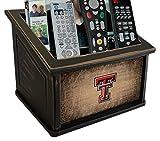 Fan Creations C0765-Texas Texas Tech University Woodgrain Media Organizer, Multicolored