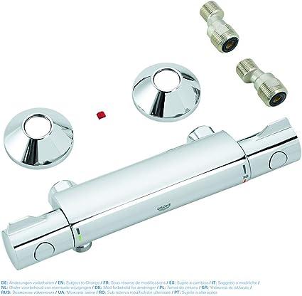 Grohe Grohtherm 800 - Conjunto de ducha con termostato de ducha 1 ...