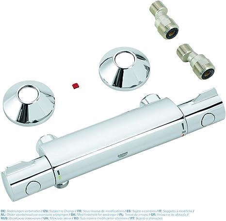 Grohe Grohtherm 800 - Conjunto de ducha con termostato de ducha 1/2
