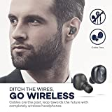 True Wireless Earbuds VAVA Bluetooth 4.1 Wire-Free In-Ear Headphones (12 Hours Playtime with the Portable Charging Case, 3 Sets of Ear Buds, Built-In Microphone)