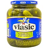 Vlasic Whole Pickles, Baby Kosher Dill, 32 Ounce