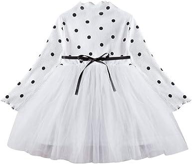 Vestido Tutú 1-3 Años para Bebé Malla Vestidos para Niñas Princesa ...